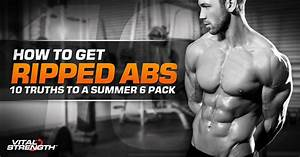 How To Get Ripped Abs  10 Rules You Need To Know