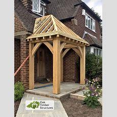 Solid Oak Porches  Oak Timber Structures