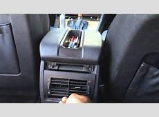 E39 rear center console vent removal 19972003 525i528i