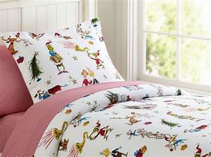 christmas themed bedding for a cozy bedroom With christmas sheets pottery barn