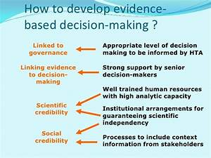 Evidence Informed Decision Making In Healthcare = Ihf