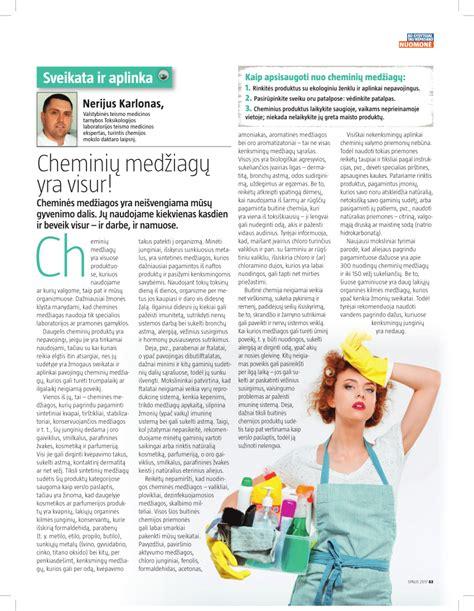 (PDF) Cheminių medžiagų yra visur!