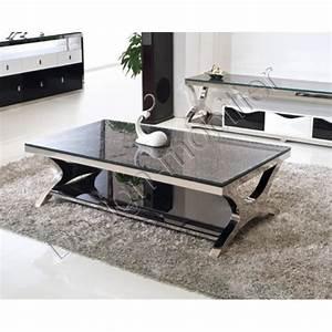 Table Basse De Salon : table basse pas cher table basse design 14 ~ Teatrodelosmanantiales.com Idées de Décoration