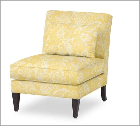 pottery barn chair slipper chair the lovely lifestyle