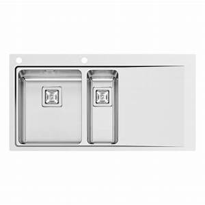 mitigeur evier leroy merlin maison design bahbecom With salle de bain design avec evier inox 2 bacs