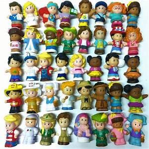 Little People Wohnhaus : random 10pcs boy girl toy fisher price little people ~ Lizthompson.info Haus und Dekorationen