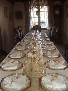 Table De Noel Blanche : marque place et d co de tables de no l blog z dio ~ Carolinahurricanesstore.com Idées de Décoration