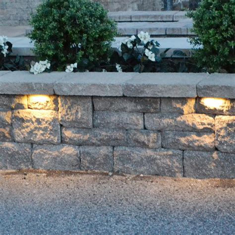 led retaining wall lights stainless steel low voltage garden light 12v led stone