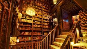 Old library wallpaper #4190