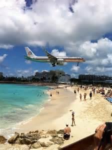 Airport Near Sunset Beach Bar St. Maarten