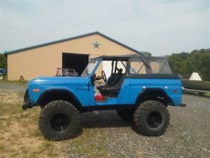 1973 Ford Bronco Classic Bronco Early Bronco 66