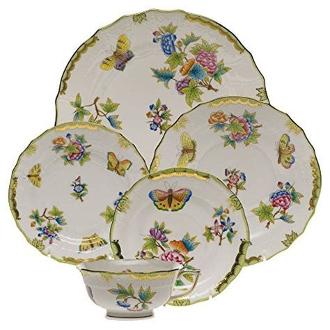 Herend VBO 00001 0 00 Herend Queen Victoria China Five