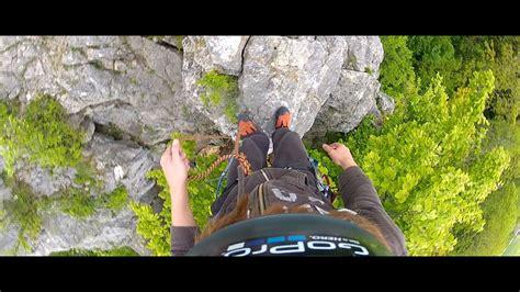 Amazing Rock Climbing Old Castle Ruin Gopro