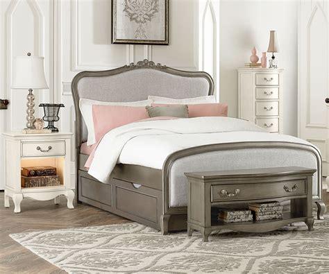 ne kids kensington collection katherine upholstered bed