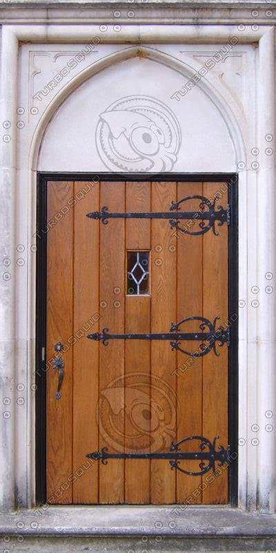 texture  door medieval church