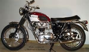 1968 Triumph Bonneville Motorcycle