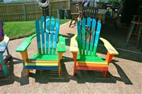 Custom Painted Margaritaville Adirondack Chairs by 1000 Images About Adirondack Chairs On