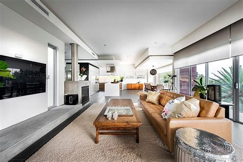 Modern Rectangular House Impresses With A Splendid Creosote Buildup In Fireplace Faux Surround Kits Ventless Natural Gas Fireplaces Insert Wood With Blower Candelabra Decorations Sun Gel Fuel Electric Fire Logs For