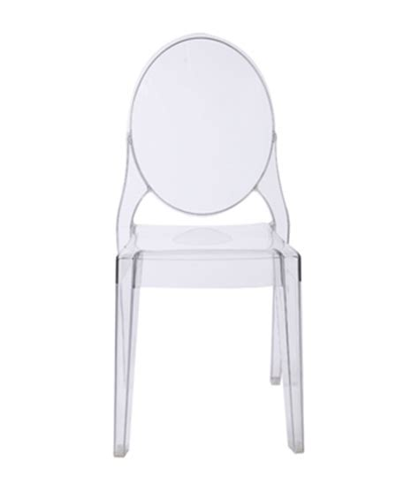 ghost chair clear lavish event rentals