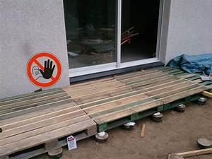 terrasse en bois palette safally terrasse en bois With comment faire une terrasse
