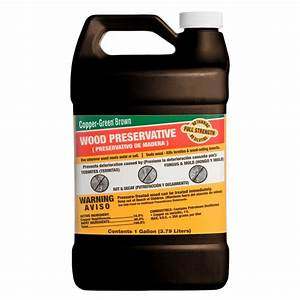 Copper-Green 1 gal Brown Wood Preservative-CB-1 - The