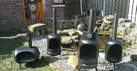 gas bottle log burner log burner garden heater log