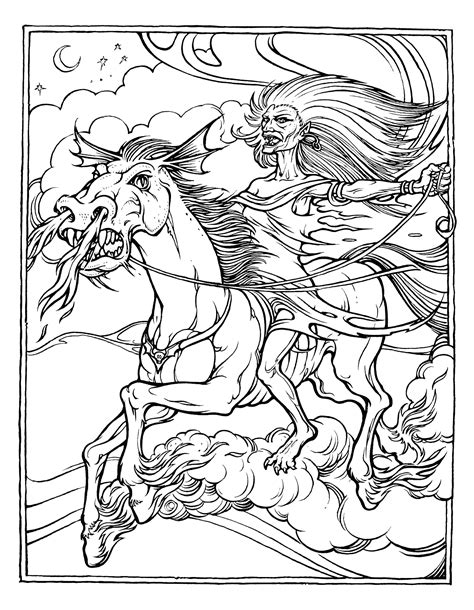 Dragon Coloring Pages Advanced Coloring Pages