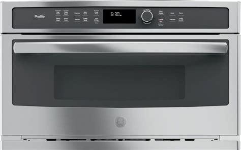 ge profile  cu ft built  microwaveconvection oven pwb spencers tv appliances
