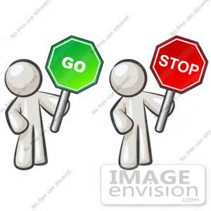 Stop and Go Clip Art