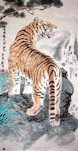 CHINESE PAINTINGS OF TIGERS | Tiger - Chinese Painting ...