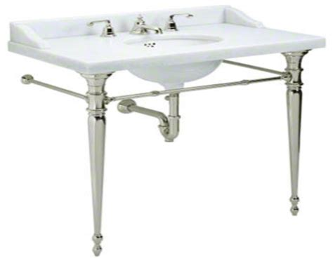 console sink with chrome legs console bathroom sinks with chrome american standard