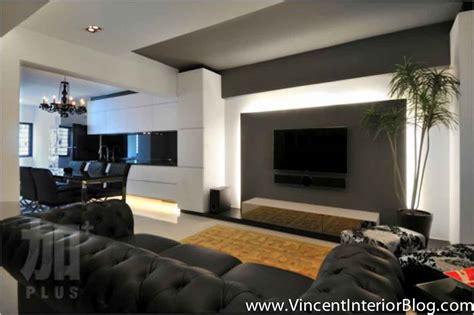 living room tv wall singapore interior design ideas beautiful living rooms Modern