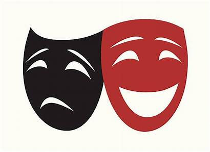 Mask Theater Masks Clip Theatrical Illustrations Similar