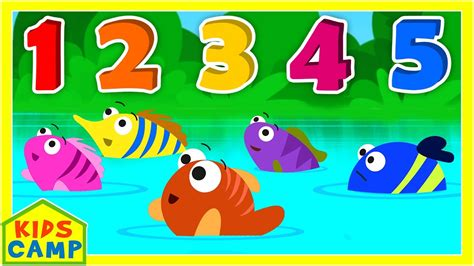 12345 Once I Caught A Fish Alive Song  Numbers Song