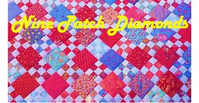 Patch Nine Disappearing Easy Quilt Beginners Keepnuinstitchesquilting