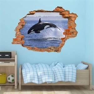 Loch In Der Wand : nikima 102 wandtattoo orca killerwal schwertwal loch ~ Lizthompson.info Haus und Dekorationen