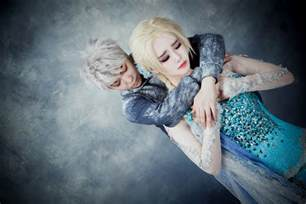 Real Jack Frost and Elsa