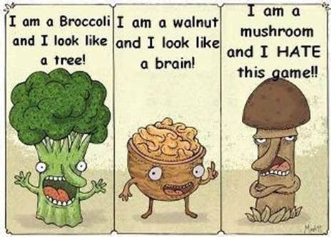 cuisine humour broccoli walnut joke search misc