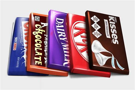 ✓ free for commercial use ✓ high quality images. Download This Free Chocolate Bar Packaging Mockup ...