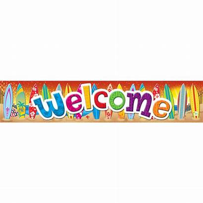 Banner Welcome Teacher Surf Resources Created Banners
