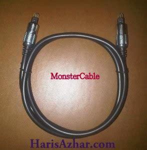 Jne Bandung Semarang Jual Kabel Optik Audio Monstercable 1 Meter Haris Azhar