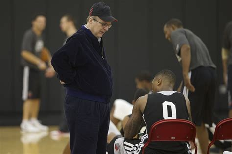 portland trail blazers react  owner paul allens cancer