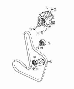 2009 Dodge Avenger Tensioner  Belt  Related  Pulleys  Alternator