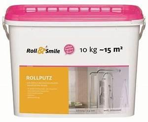 Fliesen Verputzen überputzen : ultrament roll smile rollputz 10 kg einrichtungsideen ~ Eleganceandgraceweddings.com Haus und Dekorationen