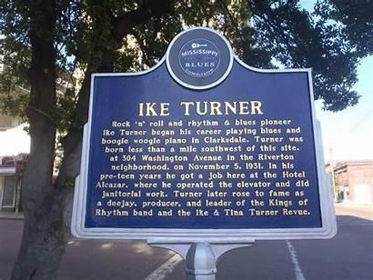 Turner Ike Clarksdale Mississippi Rhythm Kings Marker