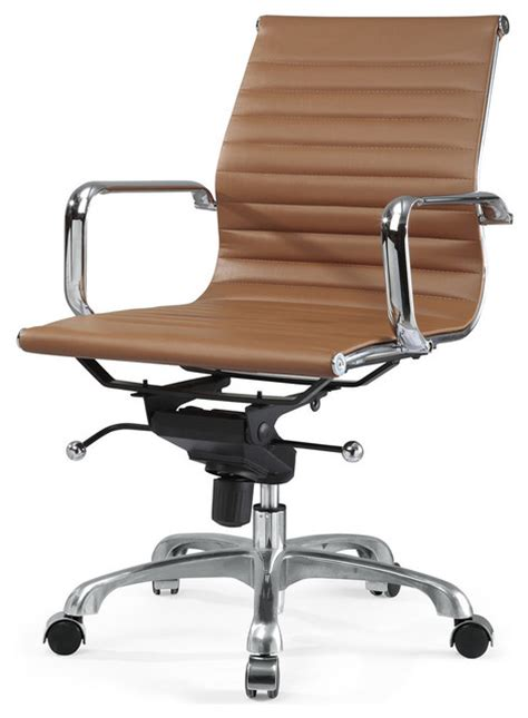 m344 eames style office chair brown modern office chairs