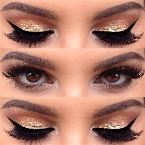 make up gold 13 charming golden eye makeup looks for 2017 pretty designs