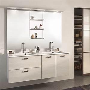 meuble salle de bain classique espace aubade With meuble salle de bain 140 cm lapeyre