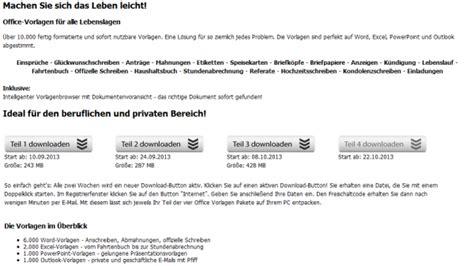 Tipp 10000 OfficeVorlagen zum kostenlosen Download