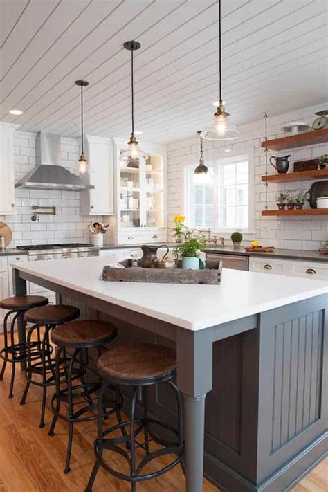 beautiful modern farmhouse kitchens mommy   wino